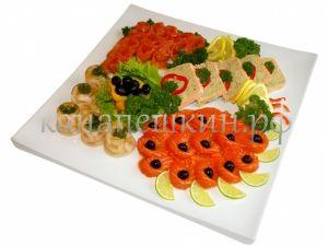 """Рыбное ассорти """"Веселая закуска"""""""