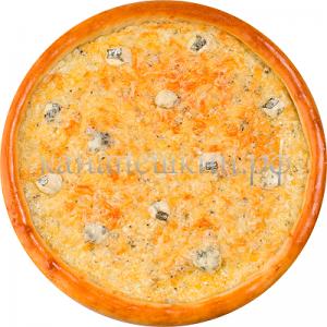 Доставка пиццы - четыре сыра