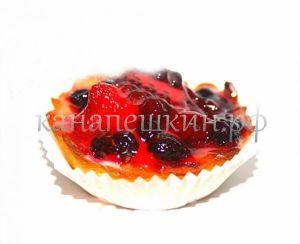 Тарталетка с ягодами