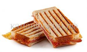 Сэндвич с салями и сыром