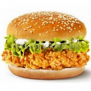 Бургер с цыпленком
