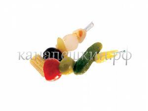 Пикантная овощная шпажка