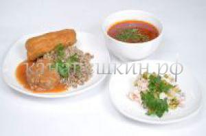Доставка обедов - заказать бизнес ланч № 4