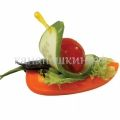 Канапе - Овощной кораблик