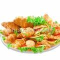 Круассаны с сырной начинкой (25 штук)