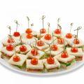 Сэндвичи с куриной грудкой (15 штук)