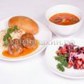 Доставка обедов - заказать бизнес ланч № 6