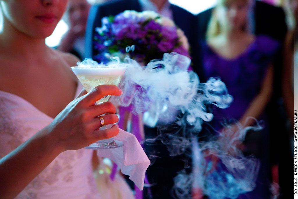 Горка из шампанского в Санкт-Петербурге